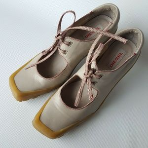 Vintage DIESEL Footwear Futuristic Mary Jane US9